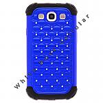Samsung i9300 (GS3) Hybrid Case Diamond Blue