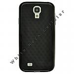 Samsung GS4 Textured Gummy Cover Black