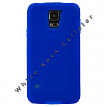 Samsung GS5 Rubber Skin Case Blue