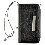 Apple iPhone 5C/i5C/Lite Wallet Pouch Black