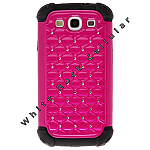Samsung i9300 (GS3) Hybrid Case Diamond Hot Pink