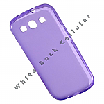 Samsung Galaxy S 3 Gummy Cover Soft Purple